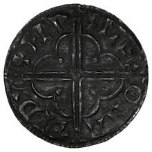 1016-1035 Cnut Hammered Silver Penny Quatrefoil type Maldon Aefwine