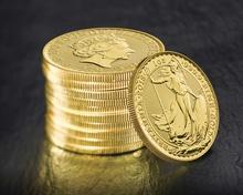 100 x 1oz Gold Britannias