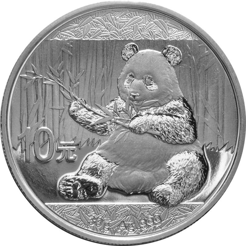 2017 30g Silver Chinese Panda