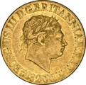 1820 Gold Sovereign - George III NGC XF45