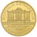 1996 Half Ounce Gold Austrian Philharmonic
