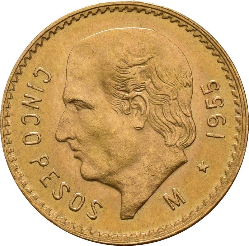 Mexican Cinco 5 Pesos
