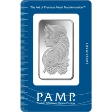 PAMP 50 Gram Silver Bar Minted