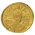 475-476 AD Basiliscus Gold Solidus Constantinople