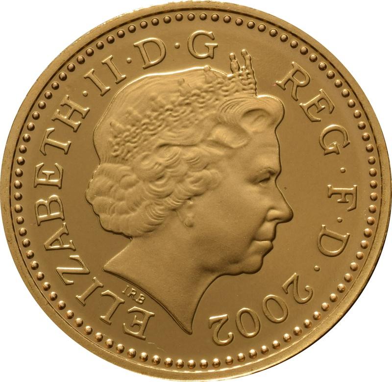 Gold 5p Five Pence Piece