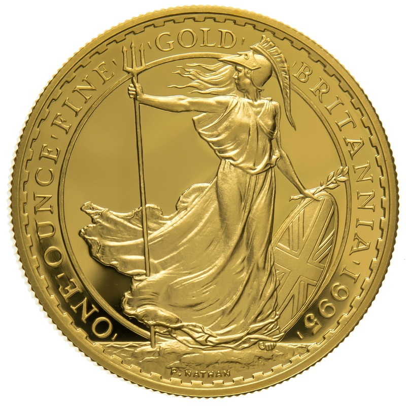 1995 One Ounce Proof Britannia Gold Coin