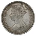 1873 Queen Victoria Silver Florin MDCCCLXIII