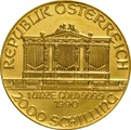 1990 1oz Austrian Gold Philharmonic Coin