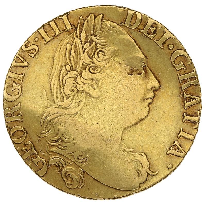 1786 George III Guinea