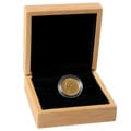Victoria Young Head Shield Back Gold Sovereign Gift Boxed