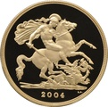 2004 - Gold £5 Proof Coin (Quintuple Sovereign)