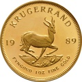 1989 1oz Gold Proof Krugerrand
