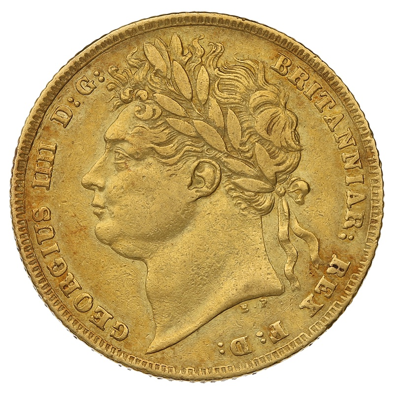 1824 George IV Gold Sovereign