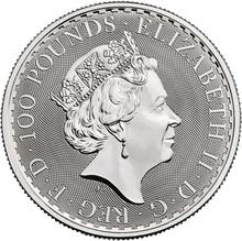 2018 1oz Platinum Britannia Coin