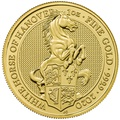 2020 White Horse of Hanover, Queen's Beast - 1oz Gold Coin