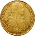 1792 Charles IV Spanish 8 Escudos