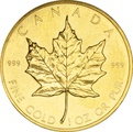 1983 1oz Canadian Maple Gold Coin