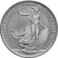2000 1oz Silver Britannia Coin