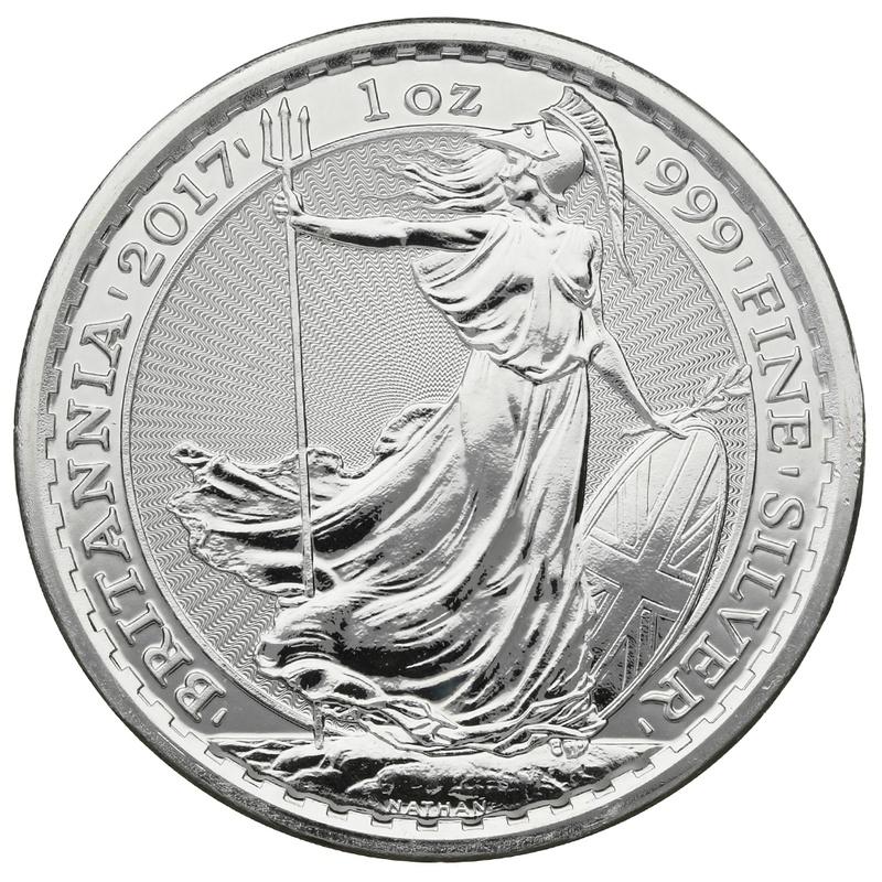 2017 1oz Privy Rooster Edge British Britannia Silver Coin