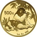 2007 1oz Gold Chinese Panda Coin