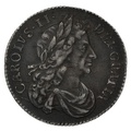 1683 Charles II Silver Sixpence
