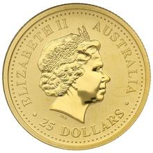 2005 Quarter Ounce Gold Australian Nugget