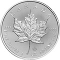 2016 1oz Canadian Maple Silver Coin
