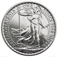 2013 1oz Britannia Silver Coin