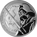 2018 Star Wars 1oz Silver Darth Vader Coin