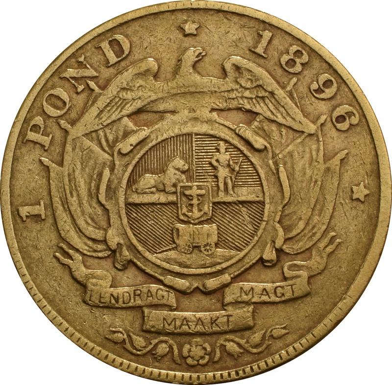 1896 1 Pond South Africa
