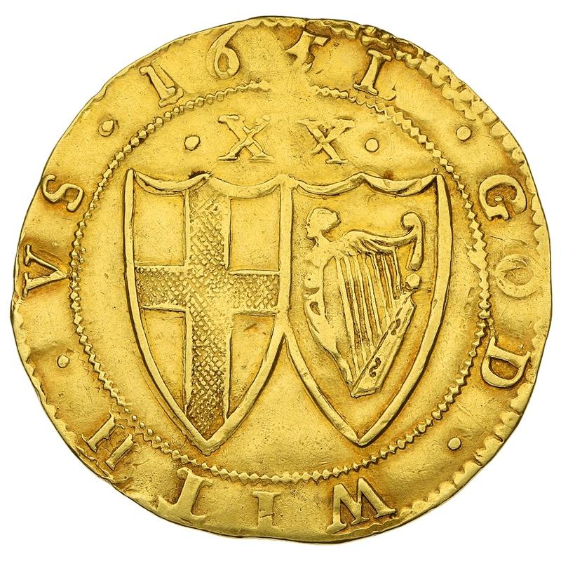 1651 Commonwealth Unite Gold Coin