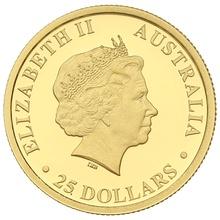 Australian Kangaroo 2018 1/4oz Gold Proof coin Boxed