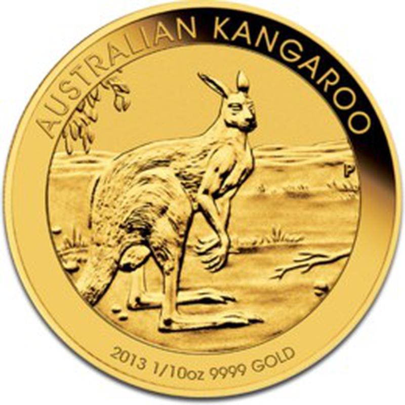 2013 Tenth Ounce Gold Australian Nugget