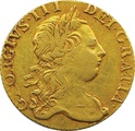 1773 George III Guinea Gold Coin - Fine