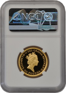 1995 Half Ounce Proof Britannia Gold Coin NGC PF69