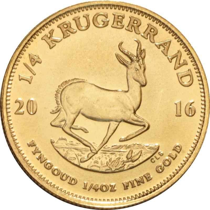 2016 Quarter Ounce Gold Krugerrand