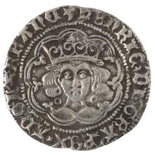 Henry VI Fourpence - Very Fine
