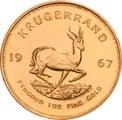 1967 1oz Gold Krugerrand