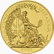2007 Gold Britannia One Ounce Coin