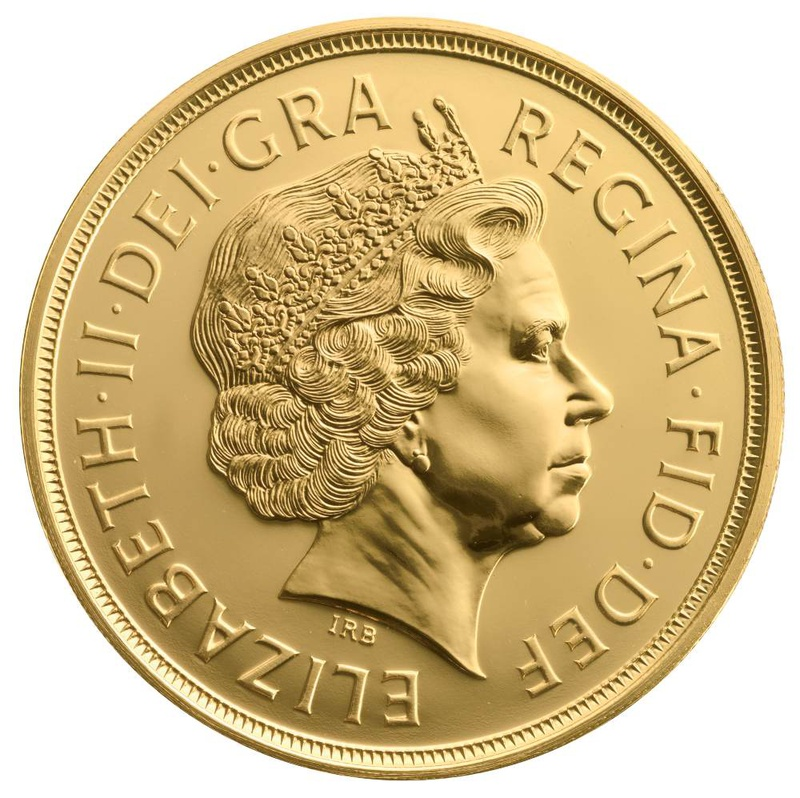 £5 British Gold Coin (Quintuple Sovereign) Best Value