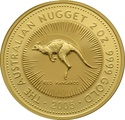 2005 2oz Gold Australian Nugget