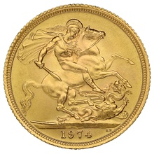 Elizabeth II Decimal Portrait Gold Sovereign Gift Boxed