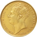 1823 George IV Double Sovereign - Near Extra-Fine