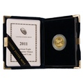 2011 Proof Quarter Ounce Eagle Gold Coin Boxed