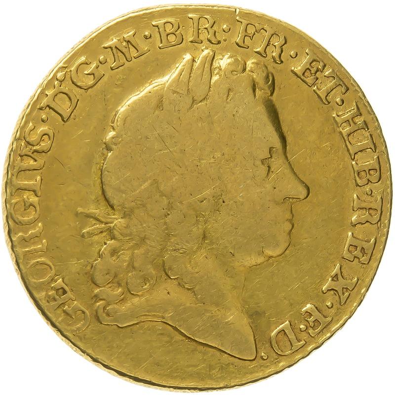 1715 George I Gold Guinea - Fine