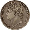 1820 George IV Silver Half Crown
