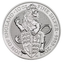 10oz Silver Coin, The Lion - Queen's Beast 2017 Gift Boxed