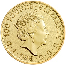 2016 Britannia One Ounce Gold Coin