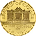 2018 Quarter Ounce Austrian Gold Philharmonic Coin