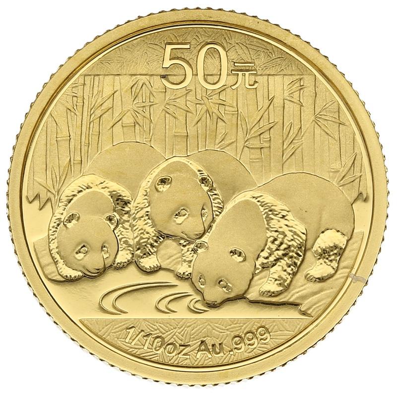 2013 1/10 oz Gold Chinese Panda Coin